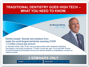 Traditional Dentistry Goes High-Tech. What you need to know with Michael DiTolla - Online Program